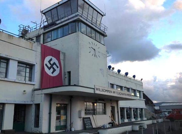 Video: WWII filming at Shoreham Airport